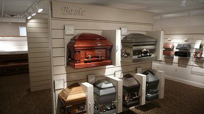 The New Casket Showroom